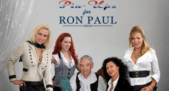 Pinups for Ron Paul Calendar